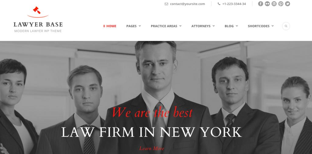 seriöse Webseiten für Anwälte und Fiinanzdienstleister