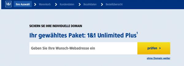 domain registrieren 1und1
