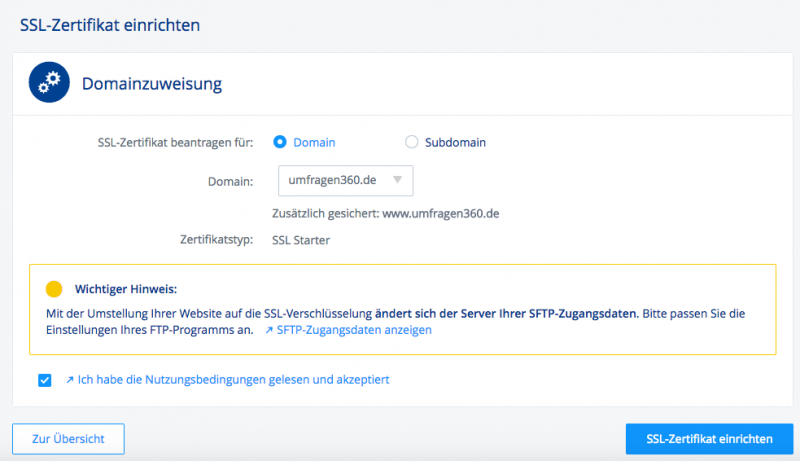 SSL Verschlüsselung WordPress