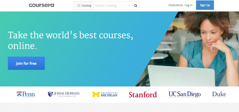 elearning portal coursera