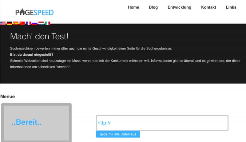 Geschwindigkeit Ihrer Website testen und verbessern können