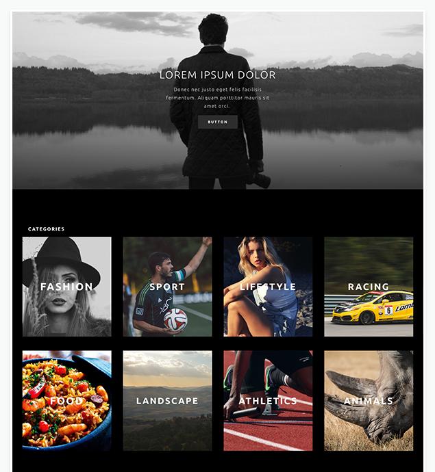 WordPress für Fotografen: Beispiele von Layouts und Themes