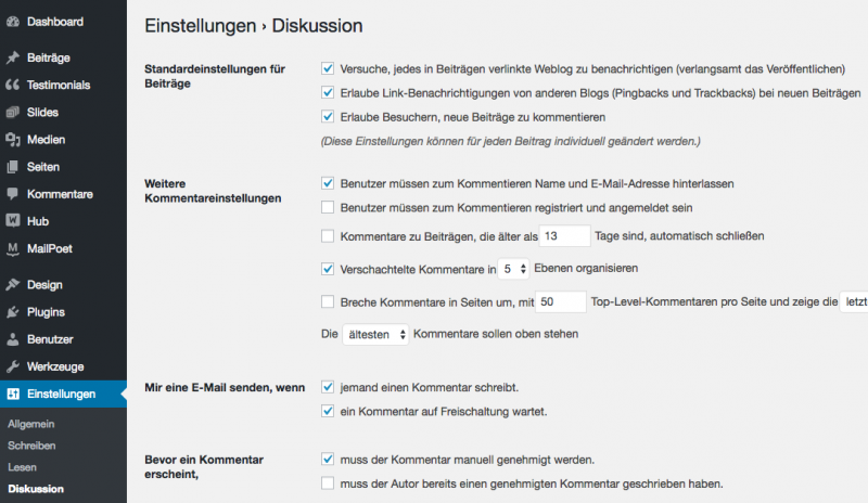 Spam in WordPress verhindern