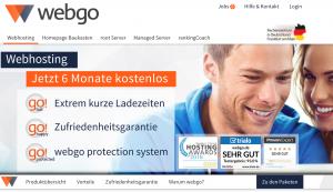 Webgo - die Alternative zum Webhosting von 1und1 und Strato