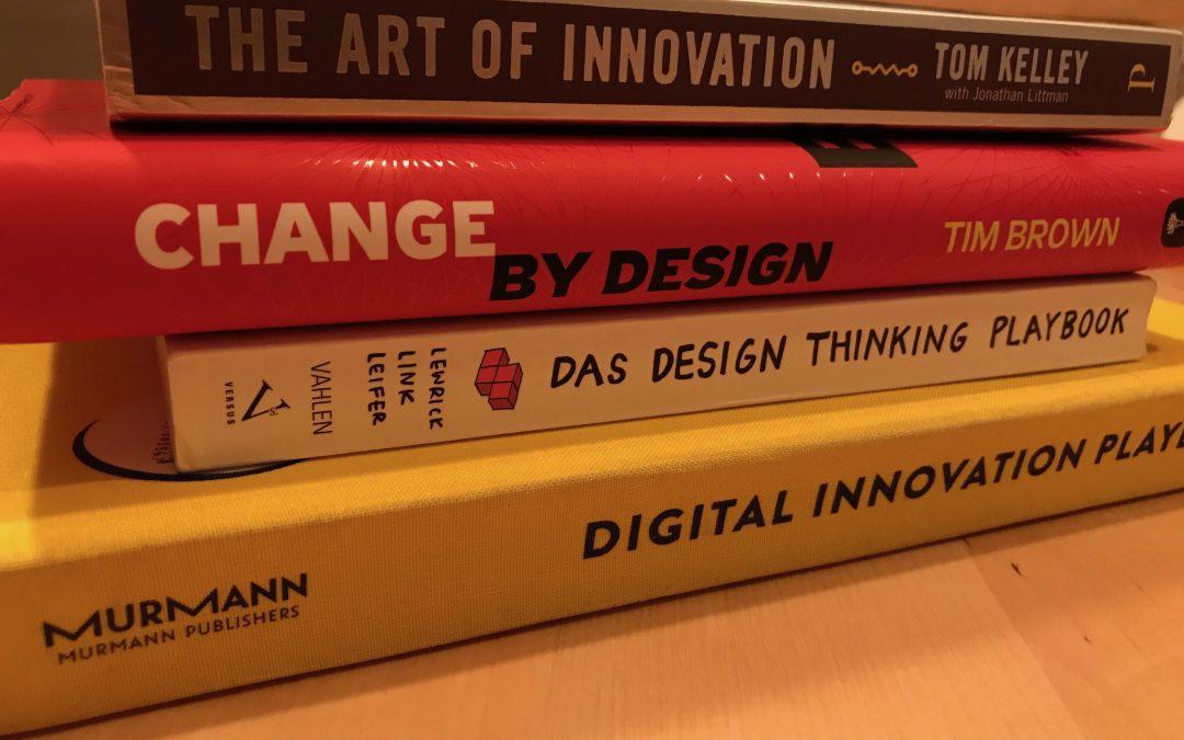 Design Thinking lernen – Übersicht zu Büchern, Beispielen, Videos & Podcasts