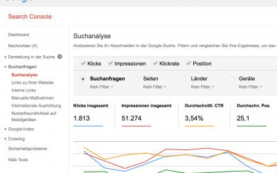 WordPress mit den Google Webmasters Tools (Search Console) verbinden