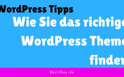 3 Tipps, wie Sie das richtige WordPress Theme finden