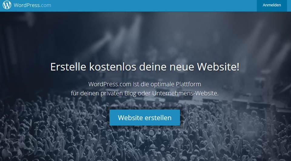 Homepage Baukasten Vergleich Jimdo, 1&1, Strato, WordPress
