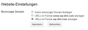 Search Console einrichten und mit Google Analytics verbinden (Screenshot Google Search Console)