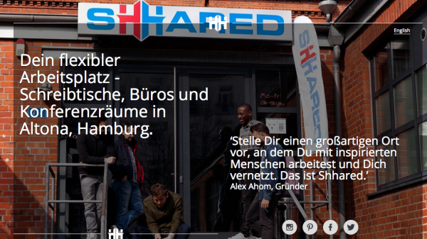 Coworking Hamburg Sharred