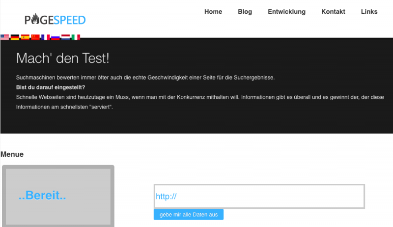 Wie Sie die Geschwindigkeit Ihrer Website testen und verbessern können