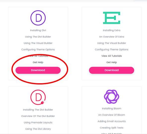 WordPress Theme installieren am Beispiel von Divi & Avada / Themeforest