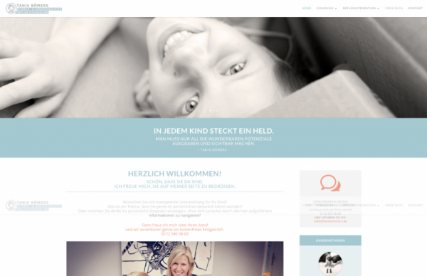 Beispiel eigene website erstellen - skillday.de