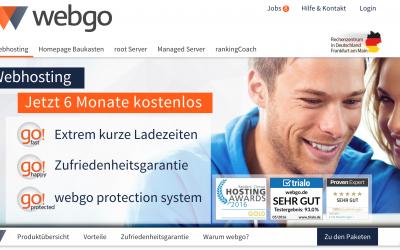 Webgo, die günstige Alternative zu 1und1 & Strato für WordPress Hosting