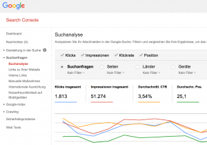 Google Webmasters Tools (Search Console)