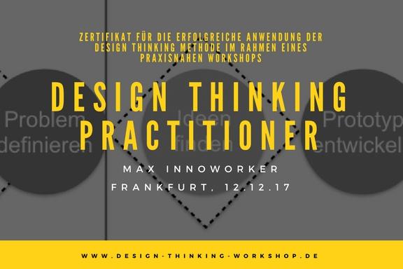 Design Thinking Zertifizierung – Zertifikat für Design Thinking Practitioner