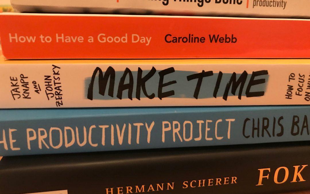 Zeitmanagement Bücher und Ressourcen aus unserem Seminar