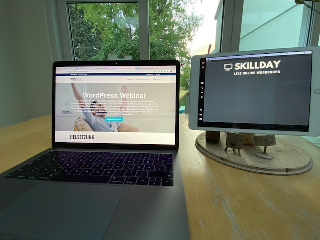 Webinar Vorbereitung